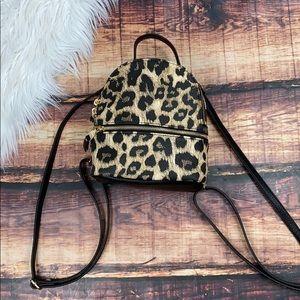 Steve Madden Leopard Mini Backpack